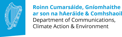 Dept of Communications Climate Action & Environment logo